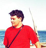 Author photo. Johann Lodewyk Marais