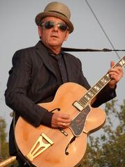 Author photo. Elvis Costello