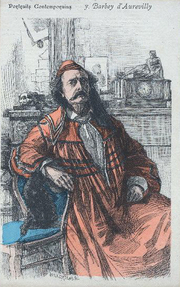 """Author photo. From """"Revue Illustrée"""", 1887<br>Courtesy of the <a href=""""http://digitalgallery.nypl.org/nypldigital/id?1104906"""">NYPL Digital Gallery</a><br>(image use requires permission from the New York Public Library)"""