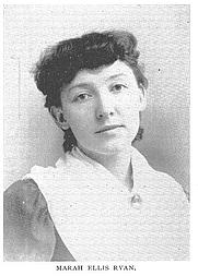 Author photo. Marah Ellis Ryan (b.1860), Buffalo Electrotype and Engraving Co., Buffalo, N.Y.
