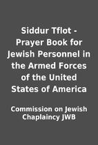Siddur Tflot - Prayer Book for Jewish…