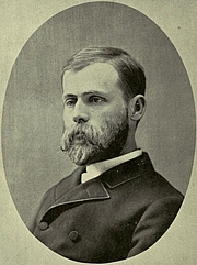 Author photo. Image from <b><i>Reincarnation; a study of the human soul</i></b> (1893) by Jerome A. Anderson