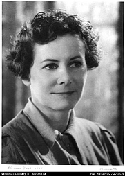 Author photo. Olive Cotton, 1911-2003. Portrait of Eleanor Dark 1945 [picture]. <br><a href=&quot;http://www.nla.gov.au&quot;>National Library of Australia</a>, nla.pic-an9070735