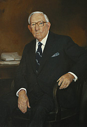 Author photo. Oil on canvas, Marshall Bouldin III, 1985, Collection of U.S. House of Representatives.