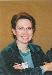 Author photo. Lillian Stewart Carl publicity photo [credit: Laura Domitz]