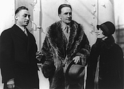Author photo. Leon Hartt, Marcel Duchamp (center), and Mrs. Hartt: Library of Congress Prints and Photographs Division, George Grantham Bain Collection (REPRODUCTION NUMBER:  LC-USZ62-63273)