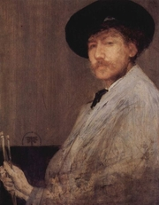 "Author photo. ""Arrangement in gray""<br> Self-portrait, 1872, Institute of Fine Arts, Detroit, Mich<br> (Yorck Project)"