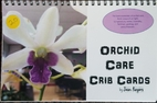 Orchid Care Crib Cards by Jean Rogers