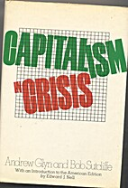 Capitalism in Crisis by Andrew Glyn