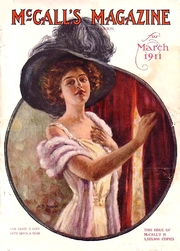 """Author photo. Cover of 1911 McCall's magazine By <a href=""""http://www.magazineart.org/general/womens/mccalls/"""" rel=""""nofollow"""" target=""""_top"""">http://www.magazineart.org/general/womens/mccalls/</a>, Public Domain, <a href=""""https://commons.wikimedia.org/w/index.php?curid=43975585"""" rel=""""nofollow"""" target=""""_top"""">https://commons.wikimedia.org/w/index.php?curid=43975585</a>"""