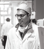 Author photo. Paul Kalanithi at the Stanford Hospital and Clinics in 2014. (Norbert von der Groeben/Stanford Hospital and Clinics)