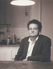 Author photo. Tonnus Oosterhoff (1953-), bookcover