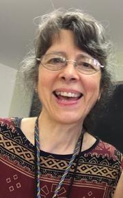 Author photo. Linda Hendrickson at Braids 2016 Conference