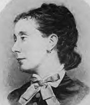 "Author photo. Mary ""Mamie"" Dickens, daughter of Charles Dickens and sister of Charles Dickens, Jr."