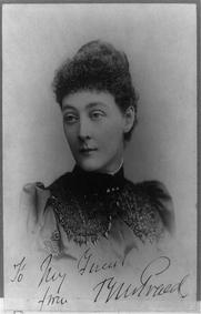 Author photo. Autographed portrait by Disderi, c1870-90 (Library of Congress)
