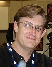 Author photo. Taken at the 2008 San Diego Comic Con.