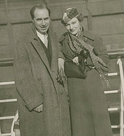 Author photo. wikimedia.org Benn W. Levy w Constance Cummings
