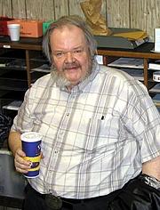 Author photo. Jack L. Chalker (by Patti Kinlock, 2003)