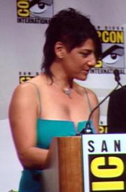 Author photo. Eisner Awards, San Diego Comic-Con 2007, photo by Lampbane