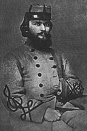 Author photo. Oates as colonel of the 15th Alabama Infantry, from a photo taken in March 1864. <BR>(War Between the Union & Confederacy, William C. Oates, 1905)