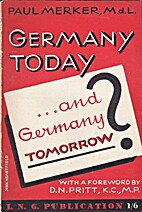 Germany today ... and Germany tomorrow by…
