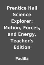 Prentice Hall Science Explorer: Motion,…