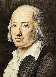 Author photo. Friedrich Hölderlin (1770-1843) (artist unknown)