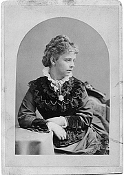 Author photo. Alice Morse in 1873, aged 22.