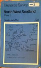 Ordnance Survey: Quarter-Inch Map: Sheet 2:…
