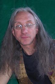 Author photo. Photo by Brian Eisley. Taken at Burning Man 2003.