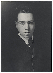 Author photo. Photographer unknown.  From the <a href=&quot;http://photography.si.edu/SearchImage.aspx?id=5592&quot;>Smithsonian Institution, Archives of American Art</a>, 1913 Armory Show, 50th anniversary exhibition records, 1962-1963