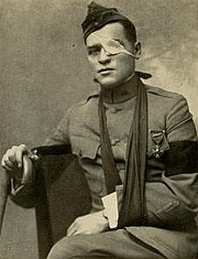 """Author photo. Image from <b><i>""""And they thought we wouldn't fight.""""</i></b> (1918) by Floyd Phillips Gibbons"""