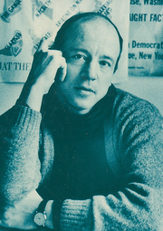 Author photo. Cropped scan of back cover of Sinclair-Stevenson's book, <i>Some Lives!</i>.