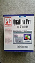 PC Magazine Guide to Quattro Pro for Windows…