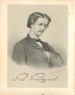 Author photo. Lithograph by S. Lankhout (c. 1867)