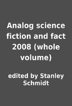 Analog science fiction and fact 2008 (whole…