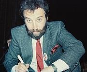 Author photo. Yakov Smirnoff. Wikimedia Commons by Sam Cali (photographer)