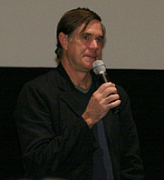 Author photo. US director Gus van Sant at a screening of his movie Paranoid Park in December 2007. Photo credit: Flickr user Mai Le