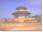 Author photo. The Kalidas Smarak, Ramtek, Maharashtra, India. Photo from the Nagpur District Gazetter via Wikimedia Commons.