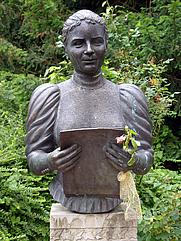 Author photo. Magdalene-Pauli-Denkmal, Bremen, Germany. Photo Credit: Hannes Grobe.