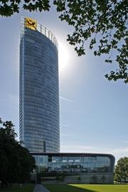 Author photo. Deutsche Post Tower, Bonn.  Photo by Thomas Robbin / Wikimedia Commons.