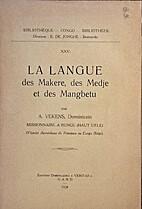 La langue des Makere, des Medje et des…