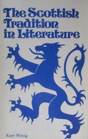 The Scottish Tradition in Literature cover