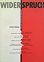 Problem Bildung by Münchner Gesellschaft…