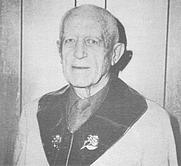 Author photo. Harold Van Buren Voorhis 1977
