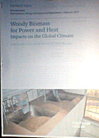 Woody Biomass for Power and Heat Impacts on…