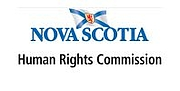 Author photo. Nova Scotia Human Rights Commission logo