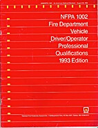 NFPA 1002 Fire Department Vehicle…