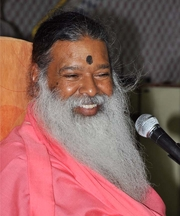 Author photo. Dr. Sri Sri Sri Ganapathy Sachchidananda Swamiji