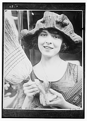 Author photo. Colleen Moore (Film Actress) ~ George Grantham Bain Collection (Library of Congress)